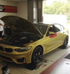 on the rollers we dyno the 2015 bmw m3 and the last gen m3 [ 2048 x 1360 Pixel ]