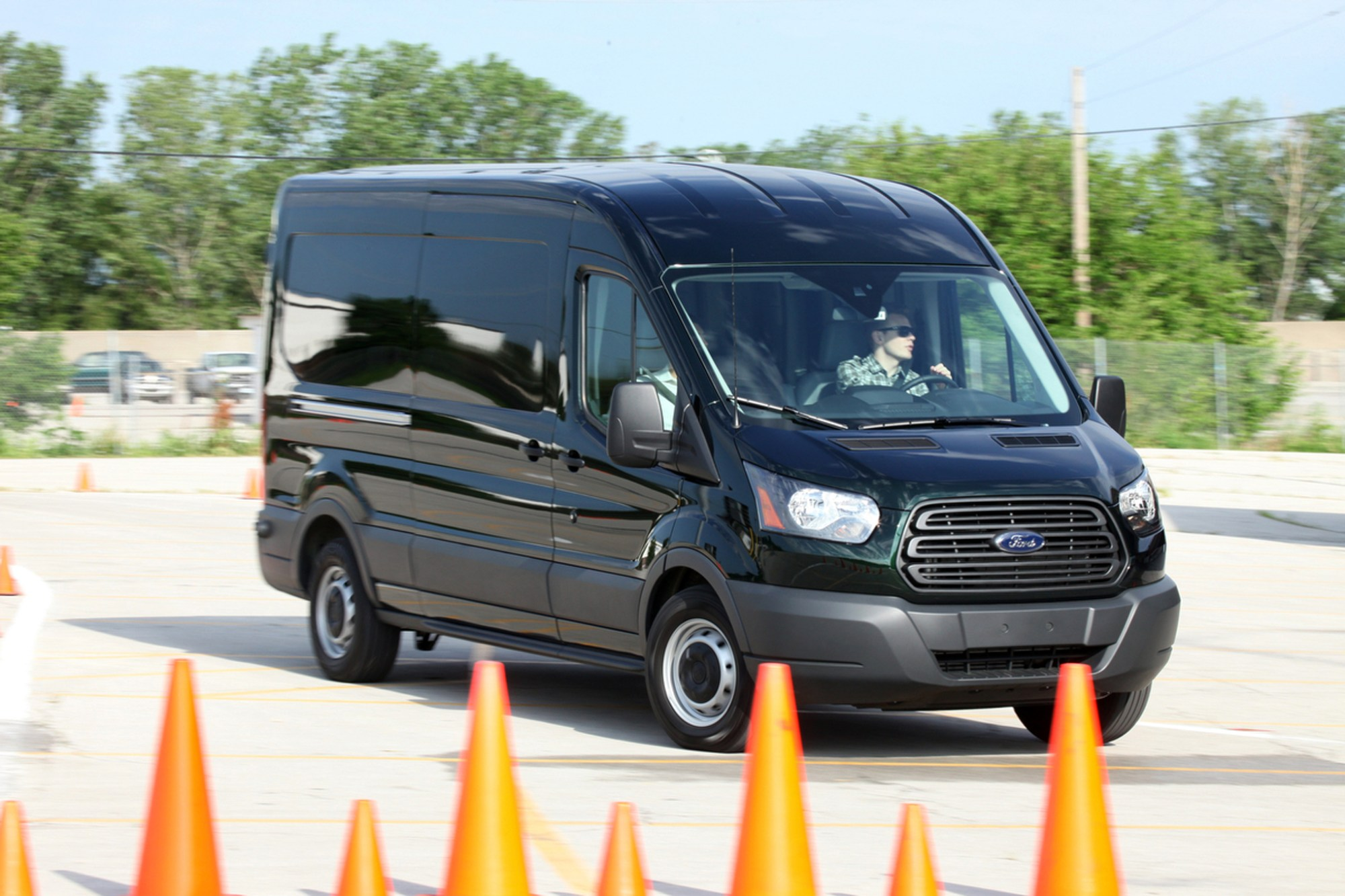 hight resolution of 2015 ford transit first drive