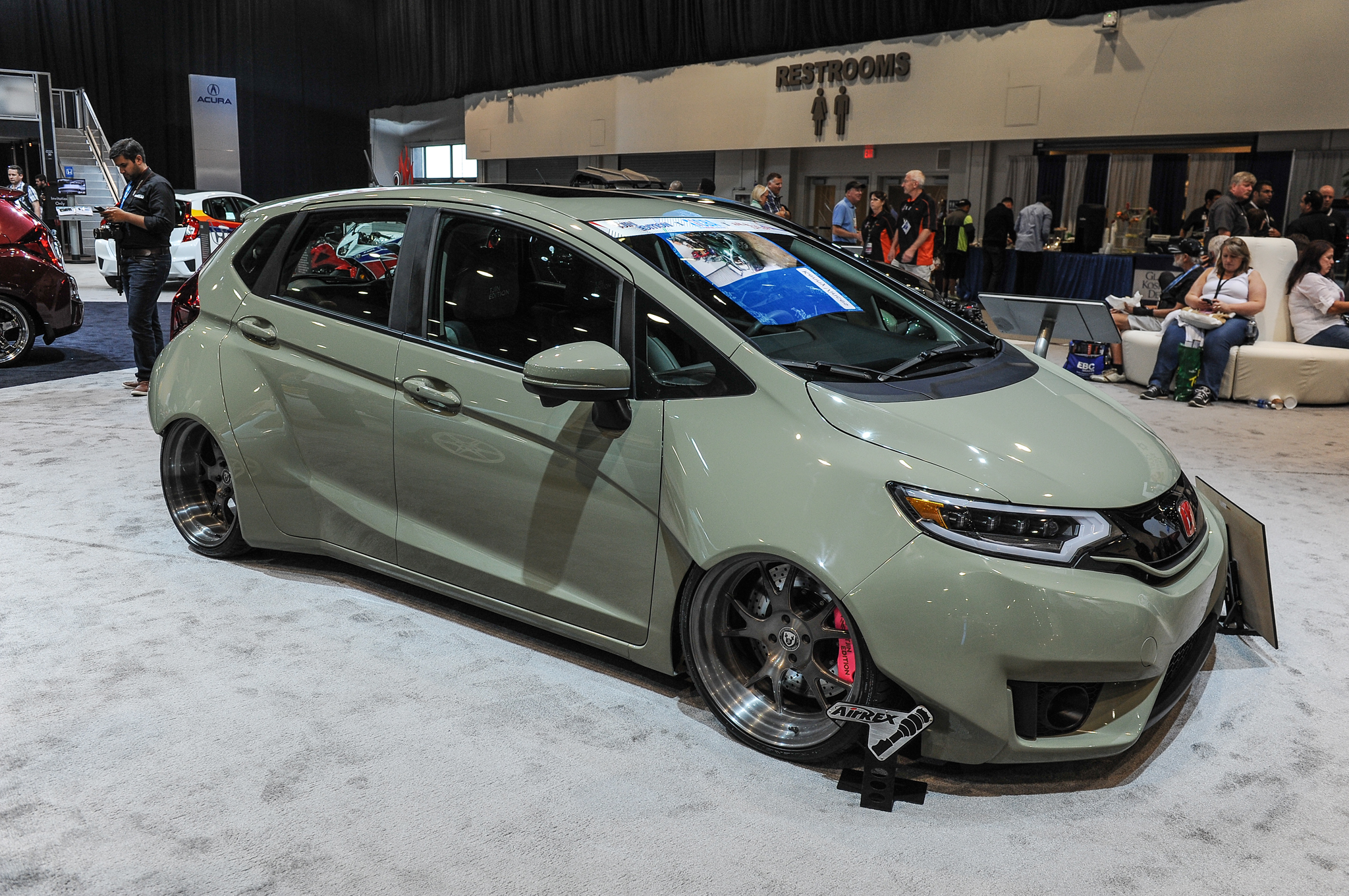 small resolution of 9 modified 2015 honda fit hatchbacks debut at sema