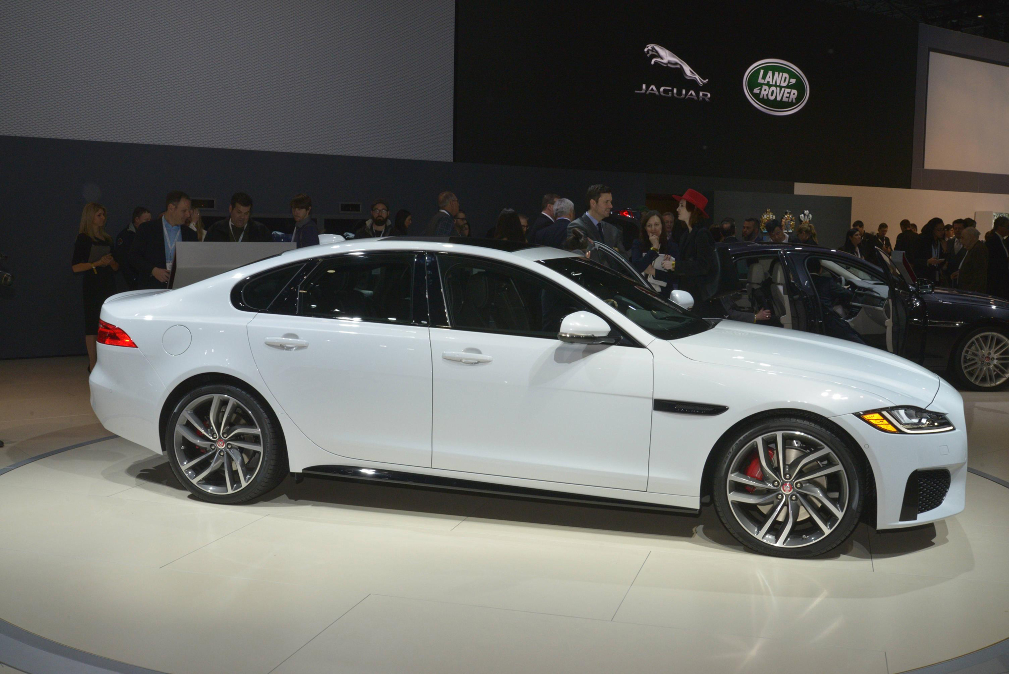 medium resolution of 2016 jaguar xf first look