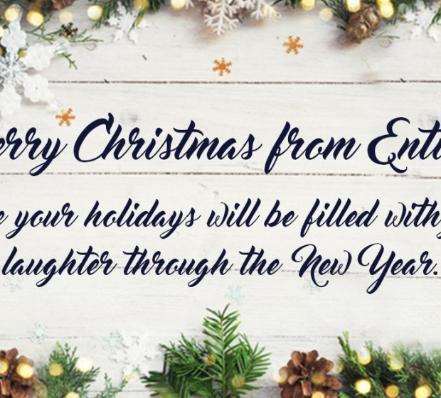 Merry Christmas from Entice!