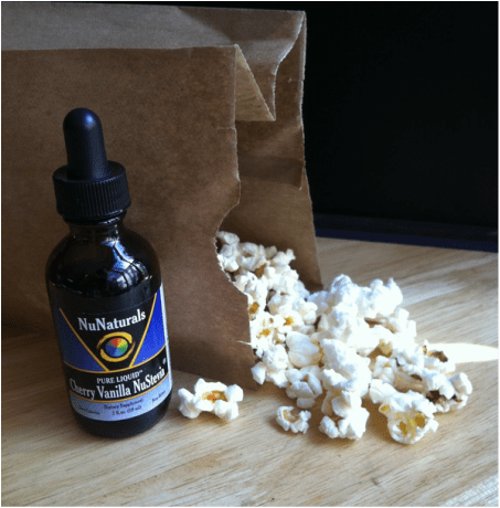 2 Ingredient Cherry Vanilla Popcorn; Enticing Healthy Eating