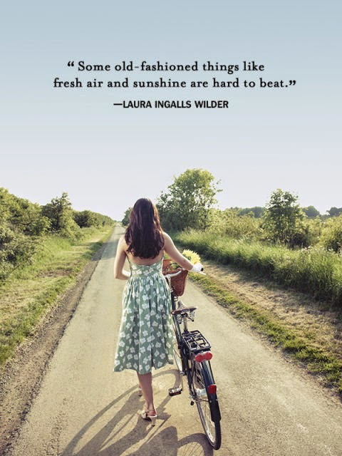 23rd Birthday Post--Enticing Healthy Eating, Laura Ingalls Wilder quote