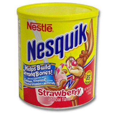 Nesquik Strawberry Milk Nostalgia