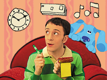 23rd Birthday Post--Enticing Healthy Eating, Blues Clues
