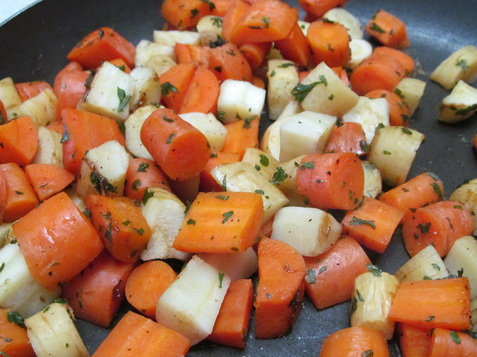 Maple Glazed Carrots and Parsnips; Enticing Healthy Eating