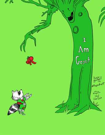 I am Groot Giving Tree