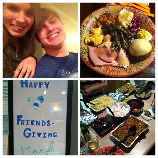 Friendsgiving; Enticing Healthy Eating