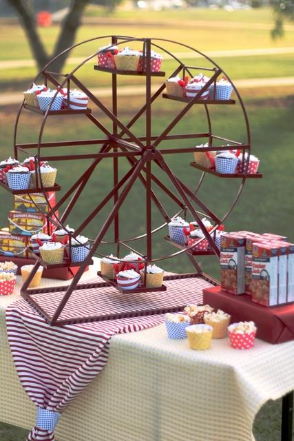 Revolving Ferris Wheel Cupcake Stand  RentBuy  Enticing