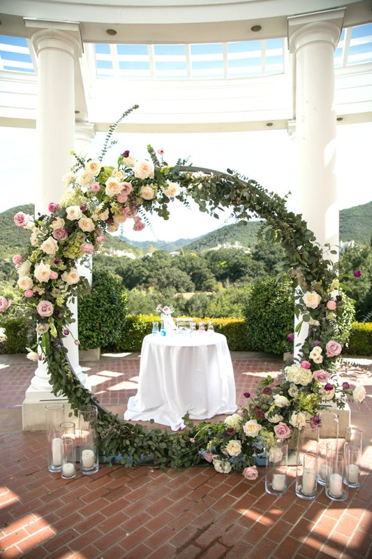 Circle and Semi Circle Arch  Wedding  Party Rentals in