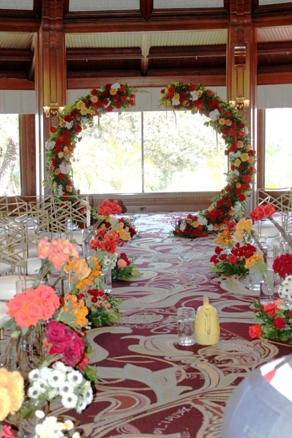 Circle and Semi Circle Arch  Wedding  Party Rentals and