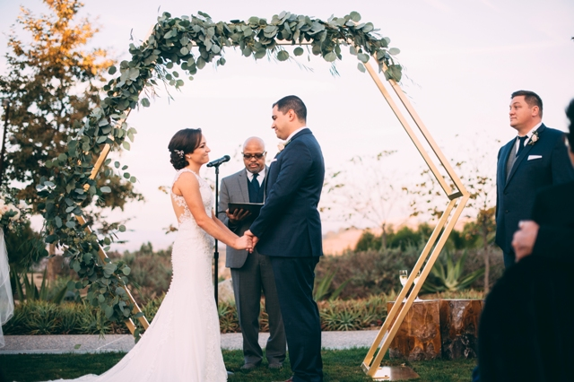 Hexagon Arch  Wedding  Party Rentals and Sales in San