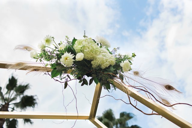 Hexagon Arch  Wedding  Party Rentals and Sales in San Diego CA