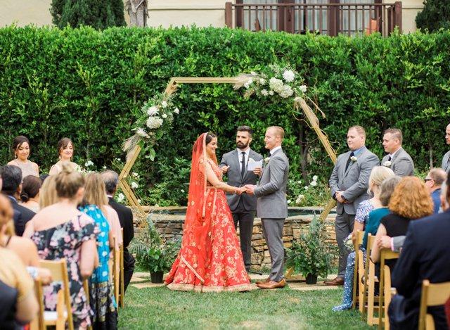 Hexagon Arch  Wedding  Party Rentals and Sales in San Diego CA