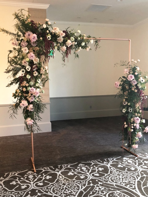 Copper Arch  Wedding  Party Rentals and Sales  San Diego CA