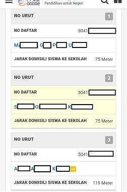 hasil seleksi ppdb sma smk Jawa Tengah