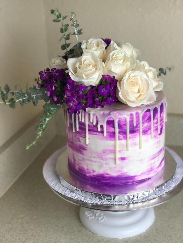14 Year Old Birthday Cake Swankydessertsbirthday Cake For The Best 14 Year Old Girl Around