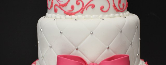 16Th Birthday Cake Sweet 16 Cake Maybe In Red And Black And Gold Instead Sweet 16