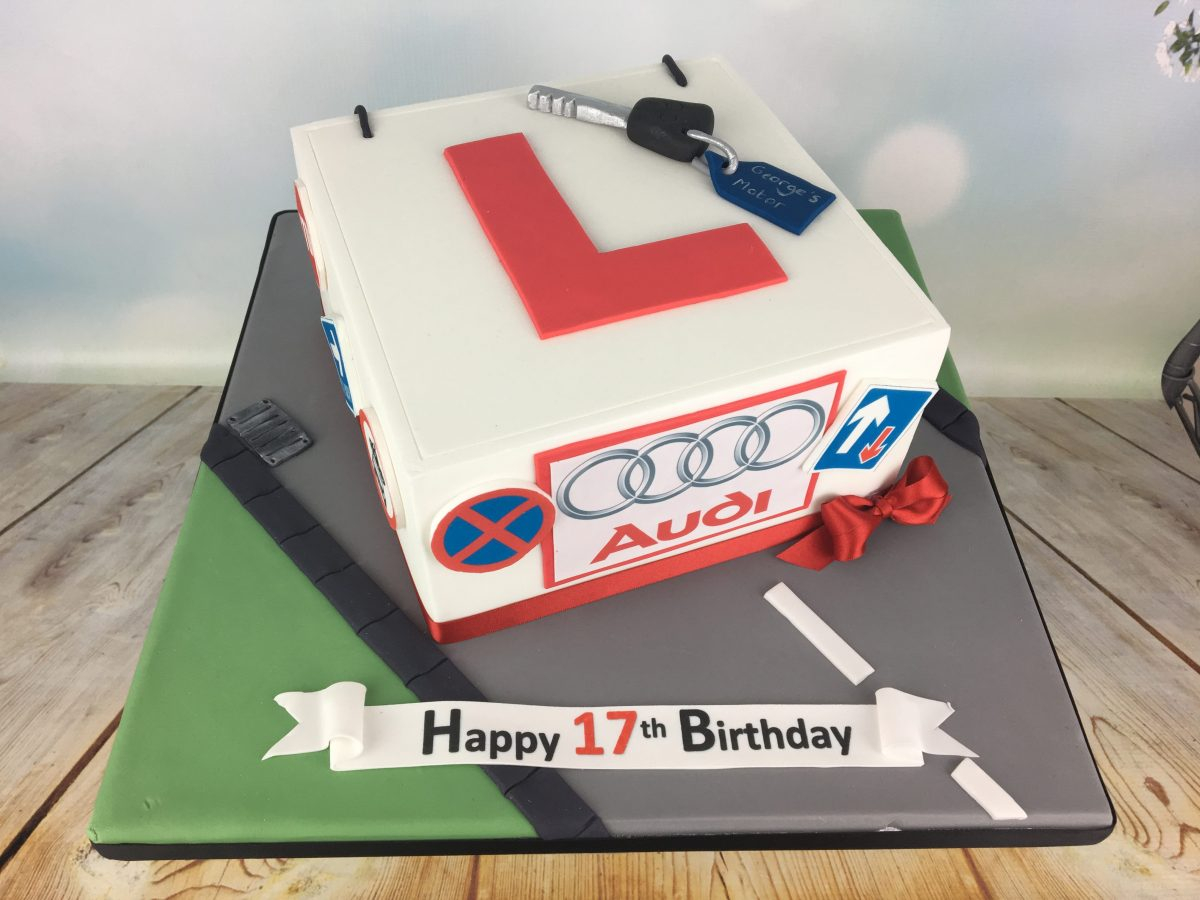 17Th Birthday Cake Learner Driver Mels Amazing Cakes