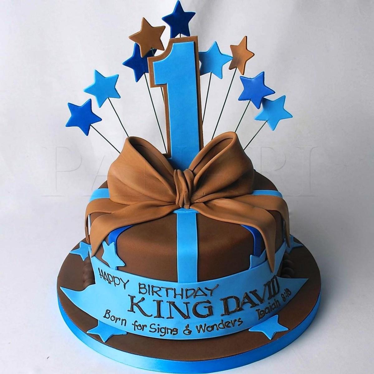 1St Birthday Cake Boy First Decorating Ideas Protoblogr Design 1st