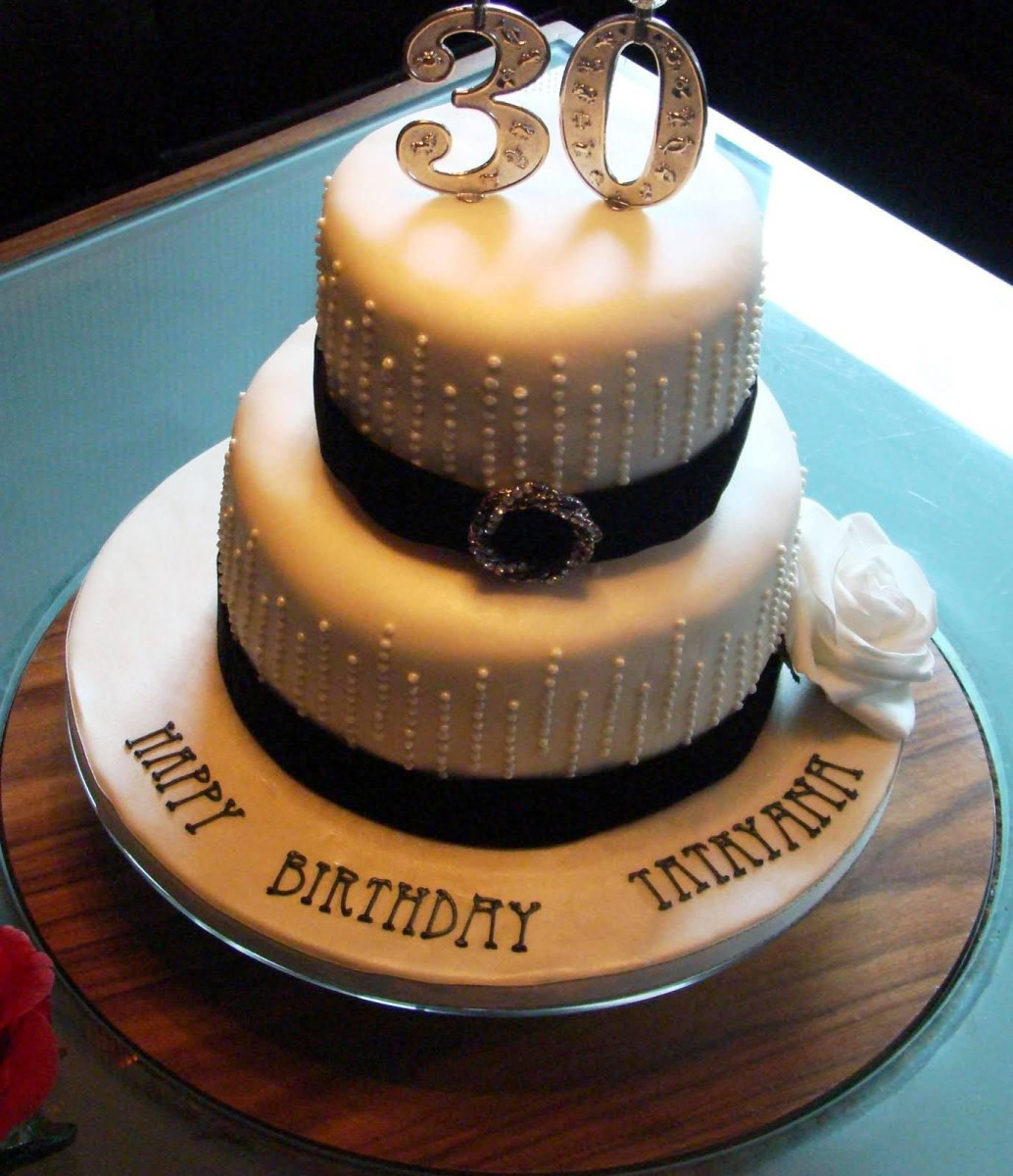 30Th Birthday Cake Ideas 30th For Women Protoblogr Design