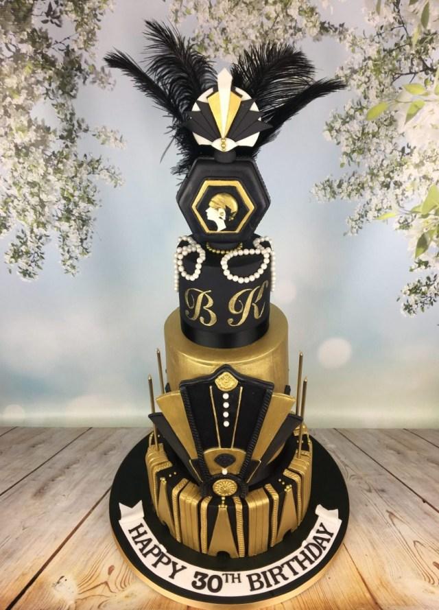 30Th Birthday Cake Ideas Great Gats 30th Birthday Cake Mels Amazing Cakes