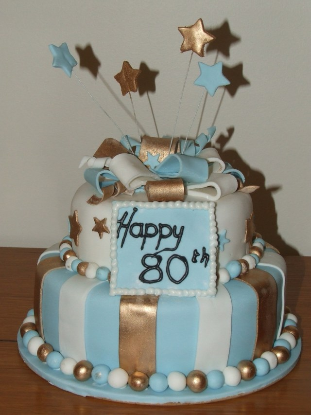 80Th Birthday Cake 80th Birthday Cake Cakecentral