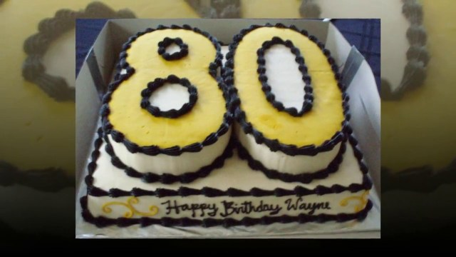 80Th Birthday Cake 80th Birthday Cake Ideas Cake Decoration Ideas Youtube