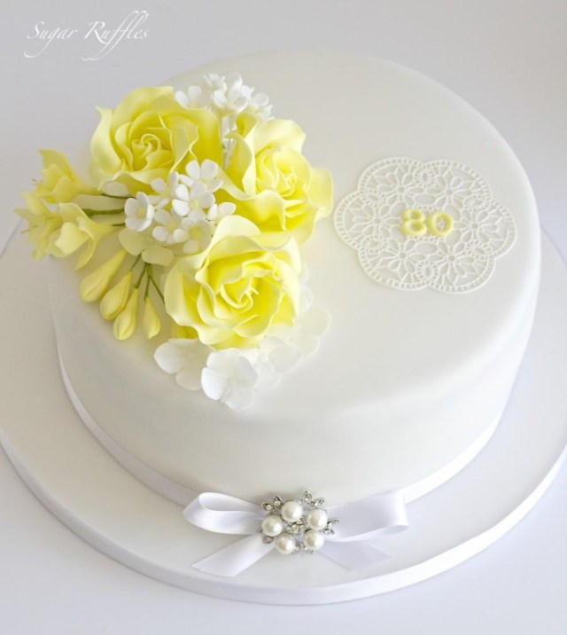 80Th Birthday Cake Essen Favor 80th Birthday Cake 2484407 Weddbook