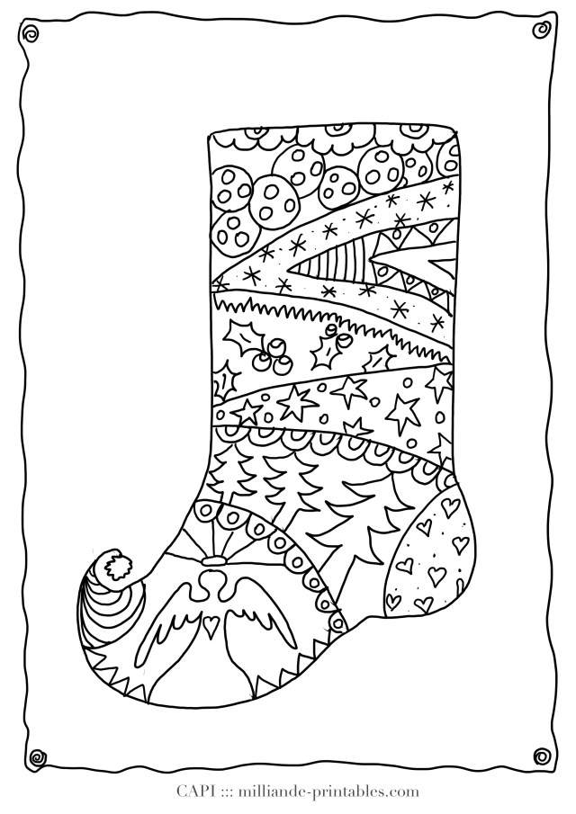 Adult Christmas Coloring Pages Christmas Adult Coloring Pages Printable Christmas Coloring Pages