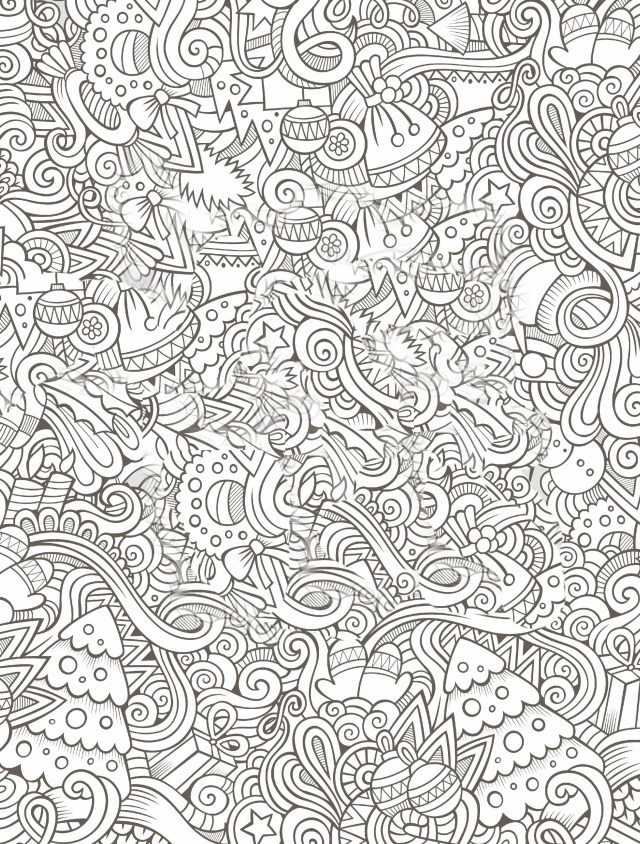 Adult Christmas Coloring Pages Free Christmas Coloring Pages To Print For Adults Coloring Pages