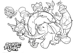 Animal Jam Coloring Pages Animal Jam Coloring Pages Free Printable