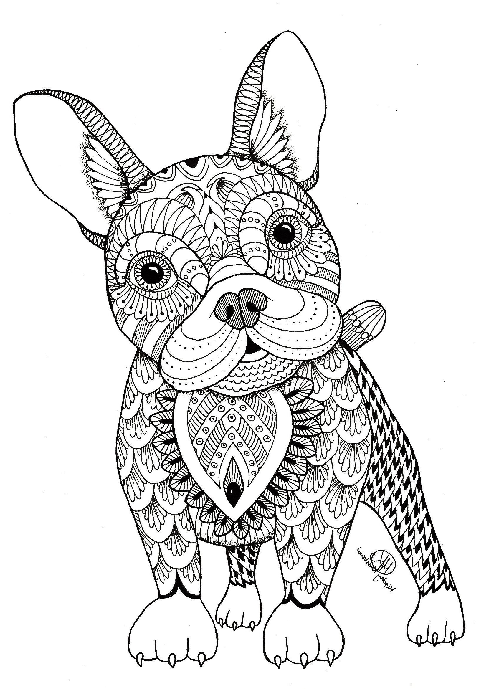 25+ Inspiration Image of Animal Mandala Coloring Pages ...   mandala colouring sheets animals