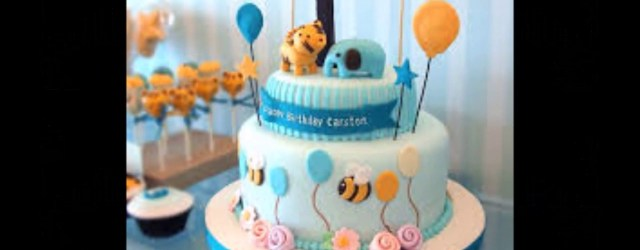 Baby Boy Birthday Cakes Ba Boy 1st Birthday Cake Photos Youtube