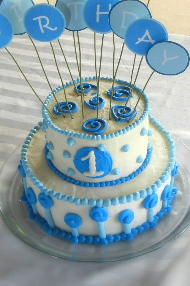 23 Pretty Picture Of Baby Boy Birthday Cakes Entitlementtrap Com