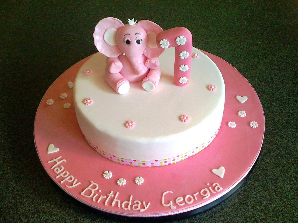 Baby Girl Birthday Cakes Ba Cake Ideas 1 Best