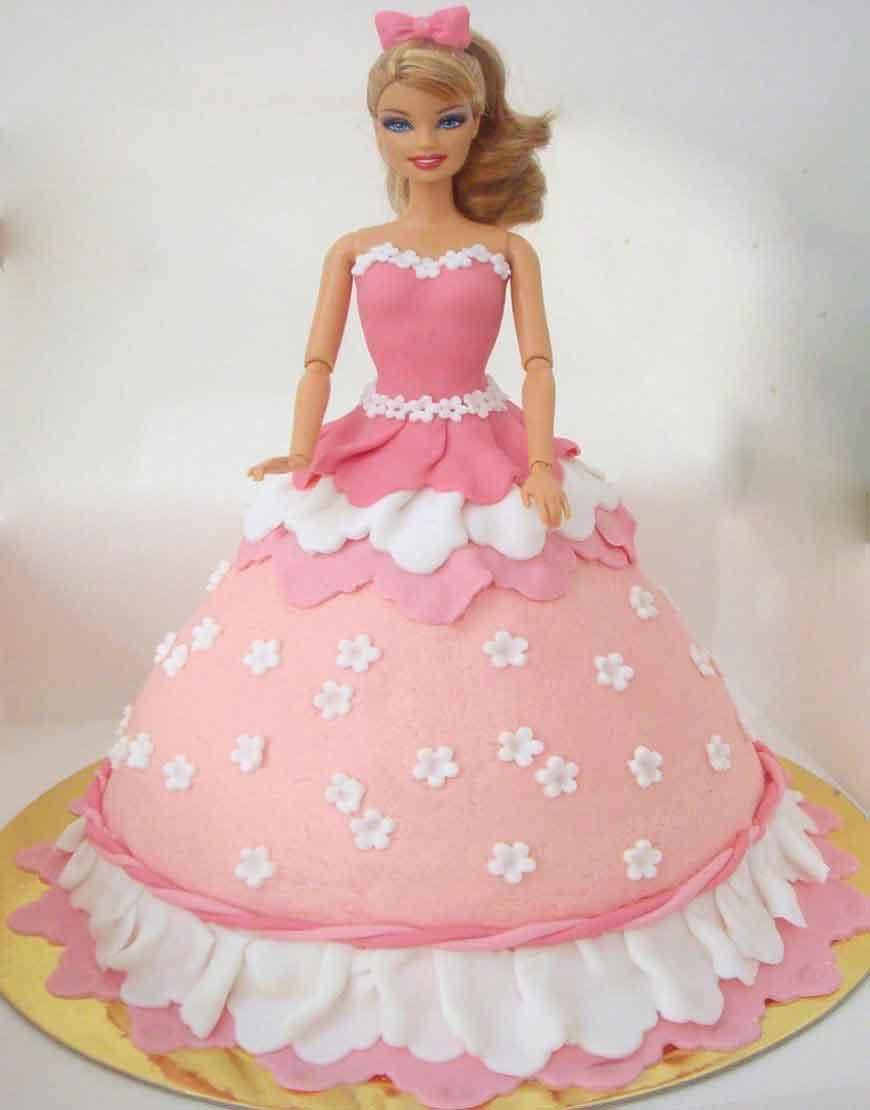 Barbie Birthday Cakes Elegant Sophisticated And Pretty Cake Gurgaonbakers