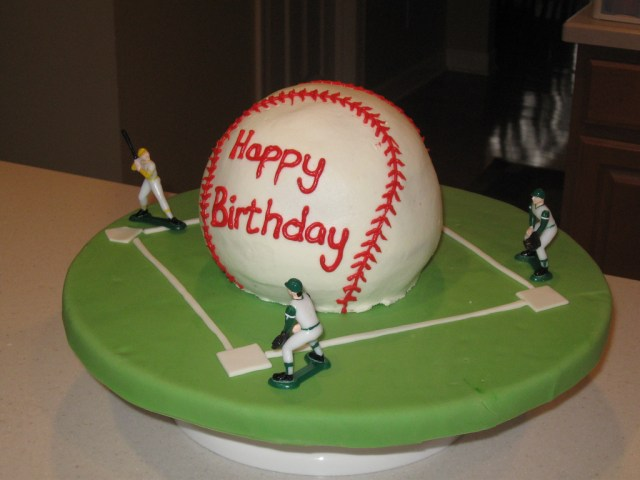 Baseball Birthday Cakes Baseball Birthday Cake Baseball Cake In Buttercream Icicng Flickr