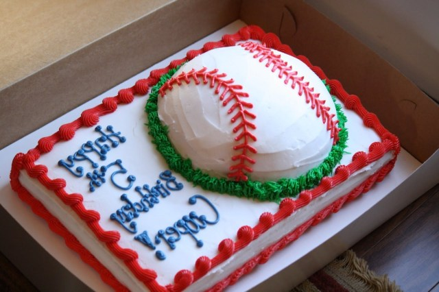 Baseball Birthday Cakes Baseball Birthday Cakes Friends On Me