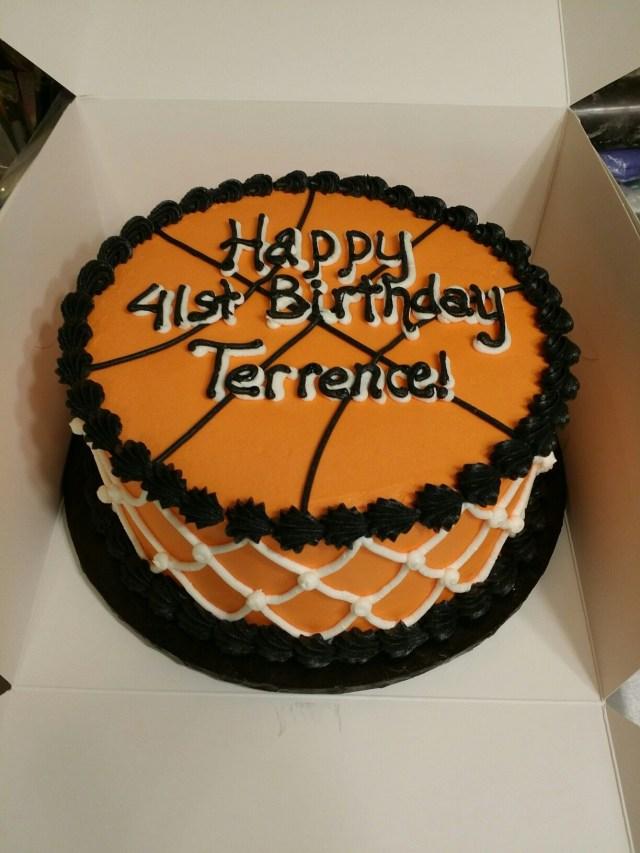 Basketball Birthday Cakes Simple Basketball Birthday Cake Cakes Michelle Price Birthday