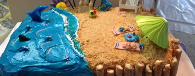 Beach Birthday Cake Beach Birthday Cake Beach Cakes And More Pinte