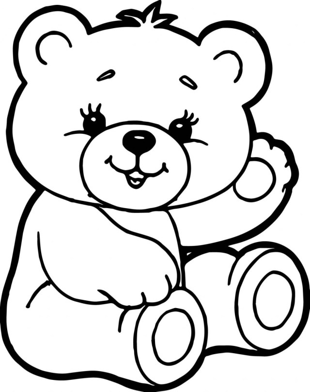Bear Coloring Pages Coloring Pages Teddy Bear Coloring Sheet Adult Sheets Free