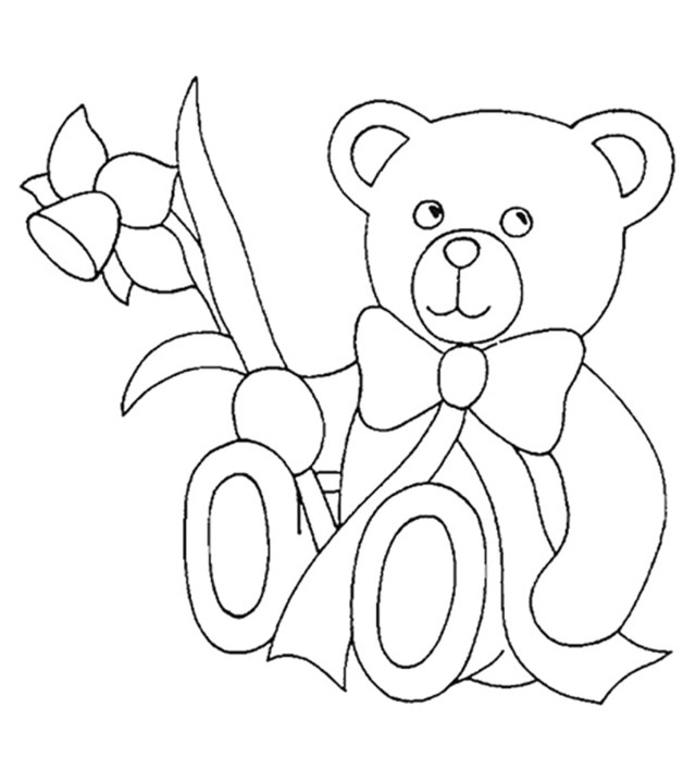 Bear Coloring Pages Top 18 Free Printable Teddy Bear Coloring Pages Online
