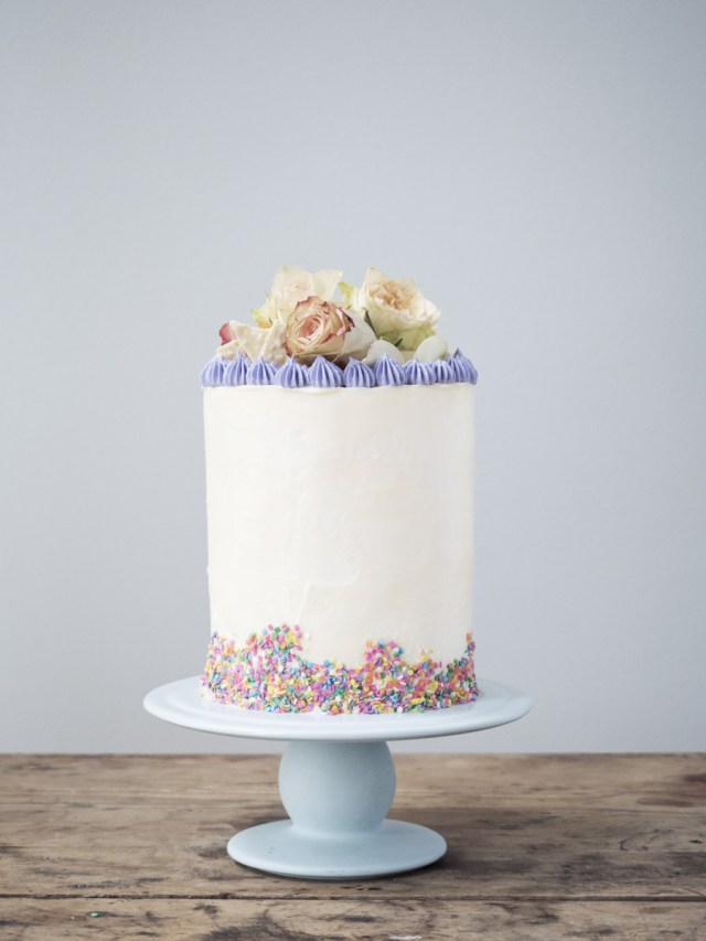 Beautiful Birthday Cake Cake Styling Inspiration 1 A Tall And Beautiful Birthday Cake