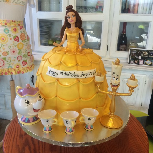 Belle Birthday Cake Beauty And The Beast Belle Birthday Cake Peridotsweets Habiba