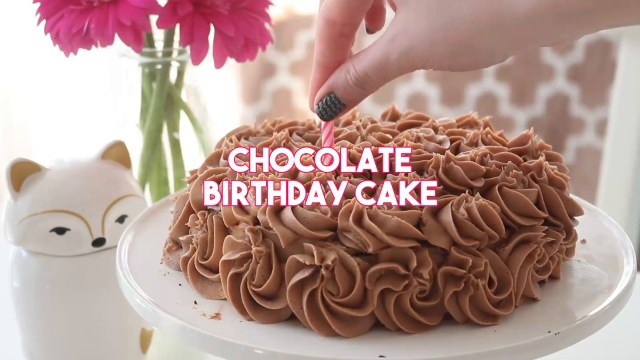 Best Chocolate Birthday Cake Chocolate Birthday Cake Recipe Tastemade