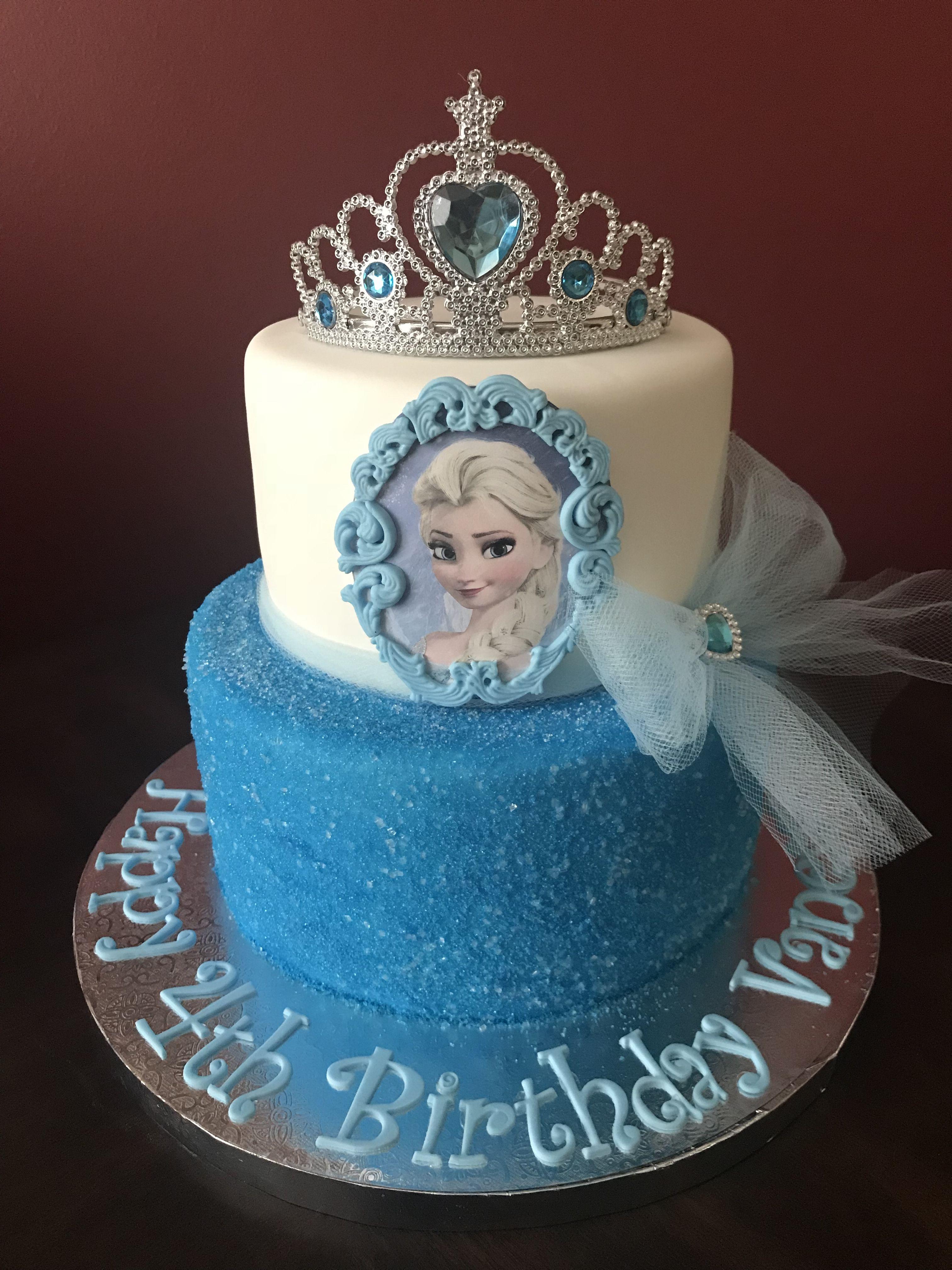 Birthday Cake Frozen Frozen Elsa Birthday Cake Birthday Cakes In