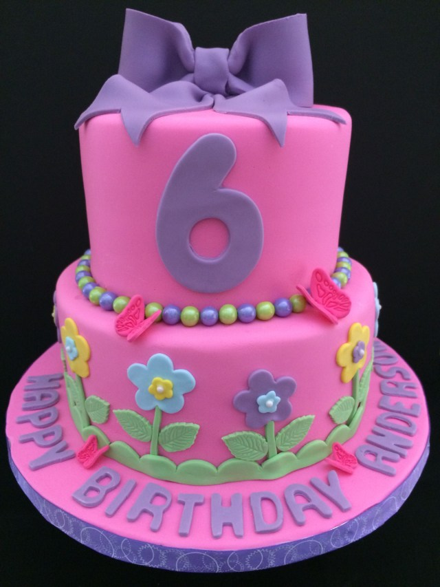 Birthday Cake Ideas For Girls A 6 Year Old Girl Cakes
