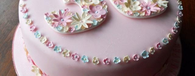 Birthday Cake Ideas For Women Flowery 30th Birthday Cake Fun Cakes Pinterest 30 Birthday