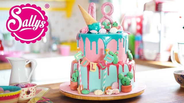 Birthday Cake Image 18th Birthday Cake Geburtstagstorte Zum 18 Drip Cake Youtube